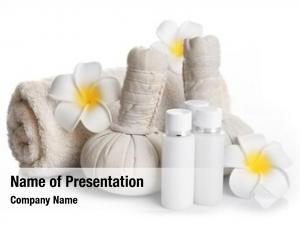 Massage spa set balls, towel,