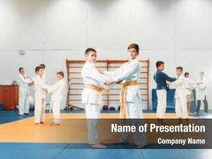 Kid judo childrens