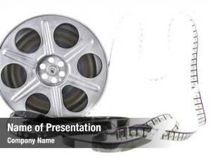 Reel movie film white