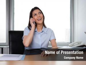 Woman cheerful business having conversation
