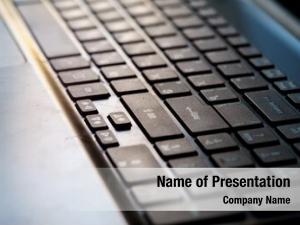 Modern close keyboard laptop, keyboard,