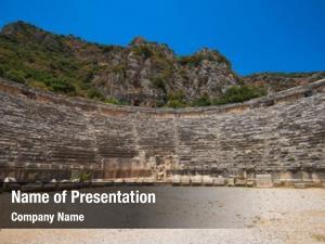 Architecture photo of ancient theatre