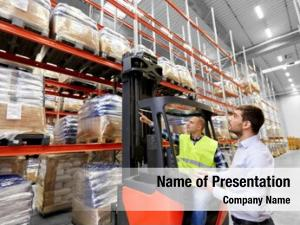 Shipment logistic business, people concept