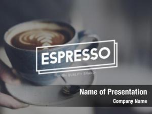 Relaxing espresso coffee break time