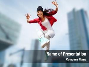 Urban sport, dancing culture concept