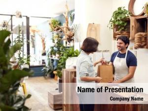 Assistant male sales florists shop