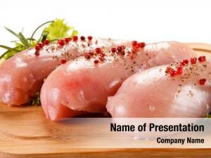 Chicken fresh raw fillets