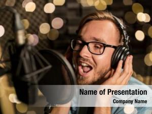 Business music show people voice
