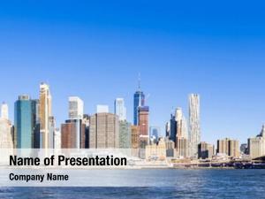 Liberty panorama statue landmark new