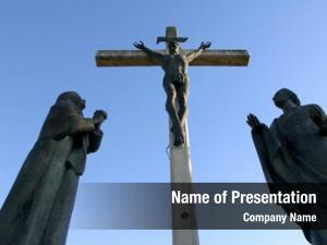 Cross, 12th stations jesus dies