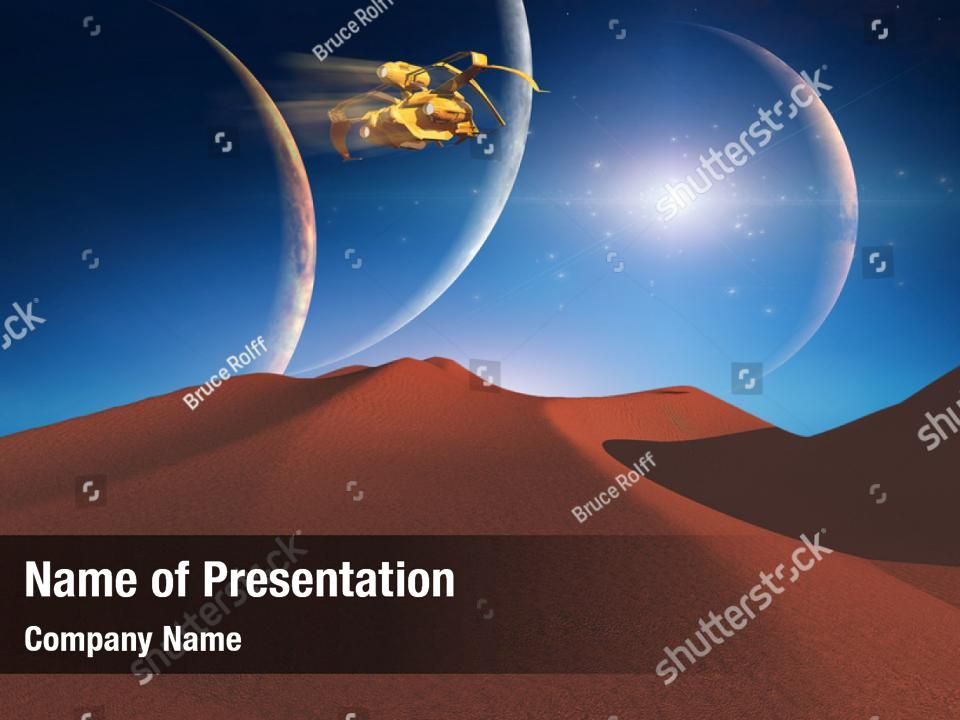 Stellar space PowerPoint Template - Stellar space PowerPoint