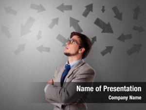 Choosing business person between several