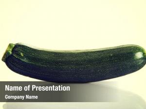 Bio fresh healthy green zucchini