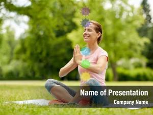 Healthy fitness, yoga lifestyle concept