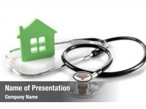 Medicine concept family green house