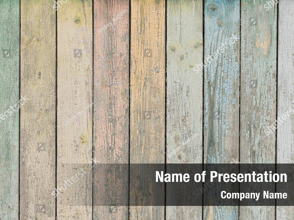 Wood Or Texture Powerpoint Template Powerpoint Template