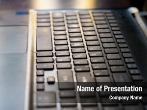 Desktop modern close keyboard
