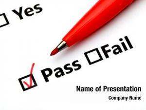 Checkbox pass fail