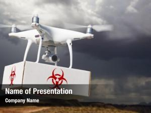 Chemical warfare system unmanned aircraft