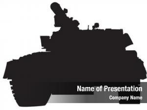Tank big military white