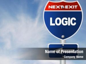 Sign logic road