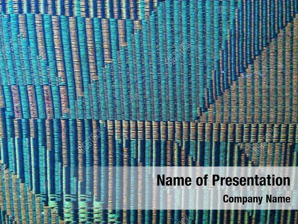 Texture Of A Green Powerpoint Template Powerpoint Template
