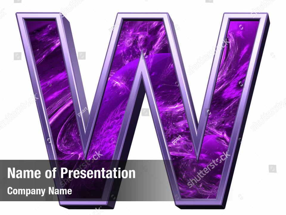 Fractal Purple Powerpoint Template Fractal Purple Powerpoint Background