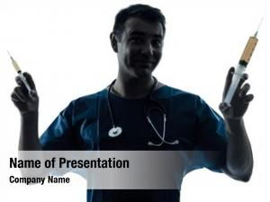 Man one caucasian doctor surgeon