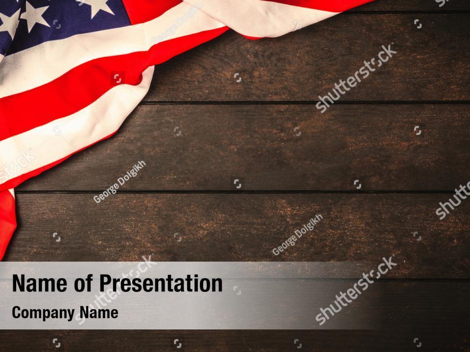 Usa Flag Ppt Theme Powerpoint Template Usa Flag Ppt Theme Powerpoint Background