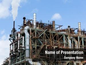Gas pipelines oil refinery industrial