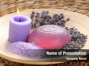 Bath aromatic lavender bath salt