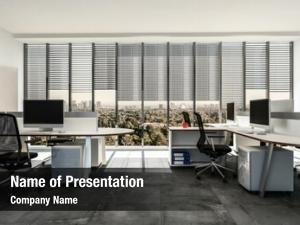 Contemporary modern business office