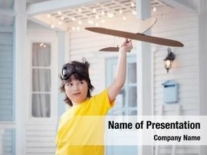 Aeroplane Fan PowerPoint Templates - Aeroplane Fan PowerPoint