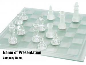 Game glass chess