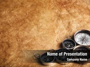 Grunge five compasses paper