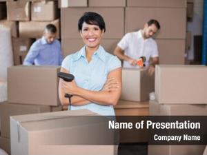 Preparing warehouse workers shipment large