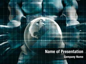 Networks global communications business concept