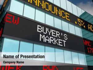 Stock buyers market low prices