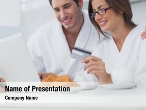 Online couple purchasing while having