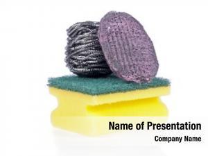 Sponge, scouring pad steel wool