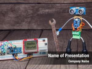 Robot made