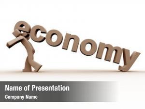 Man economy recession under pressure
