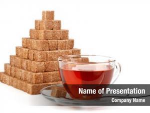 Reed pyramid cubes sugar cup