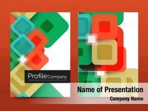 Abstract square business corporate