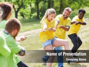 Tug young team war exercise