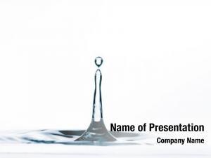 Drop drop water surface