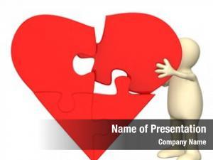Puzzle heart parts