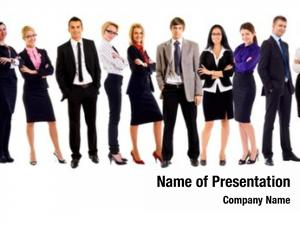 Business young attractive people elite