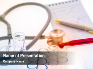 Tubes,medical laboratory test glassware stethoscope