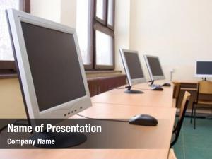 Training empty computer room